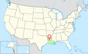 Louisiana-Time-Zone-Map