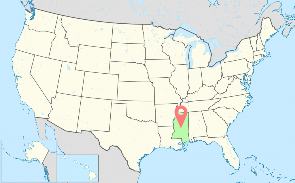 Mississippi-Time-Zone-Map