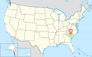 South-Carolina-Time-Zone-Map
