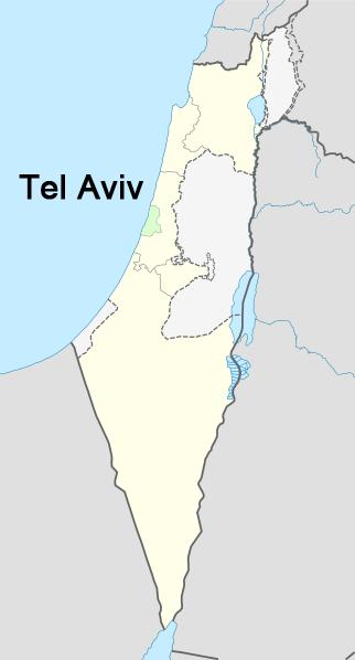 Tel-aviv-israel-time-zone-map