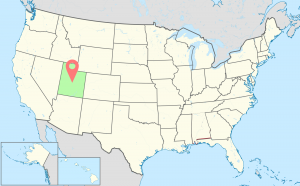 Utah-Time-Zone-Map