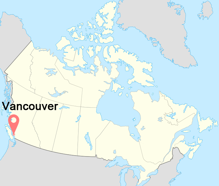 Vancouver-Canada-Time-Zone-map