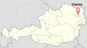 Vienna-Austria-time-zone-map