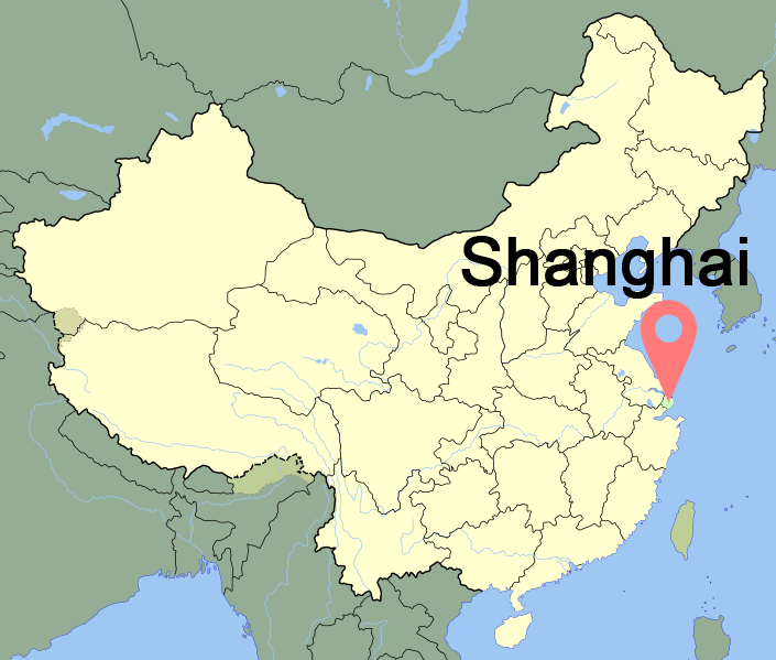 Current Time In Shanghai China Map Weather Utc Gmt